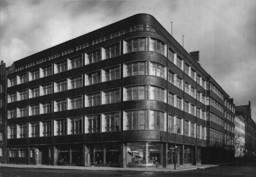 Taut-Haus, Straßenansicht, um 1932 © Max Taut Archiv